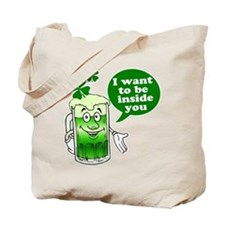 I Want To Be Inside You Tote Bag