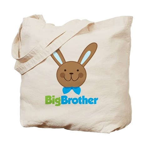 Easter Bunny Big Brother Tote Bag