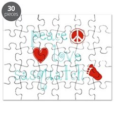 Peace, Love and Sasquatch Puzzle