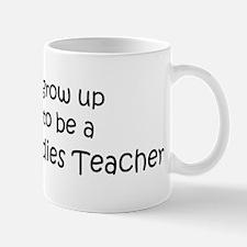 Grow Up Museum Studies Teache Mug