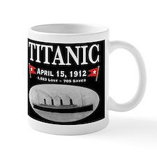 Titanic Ghost Ship (black) Small Mug
