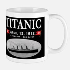 Titanic Ghost Ship (black) Small Small Mug
