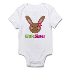 Easter Bunny Little Sister Infant Bodysuit