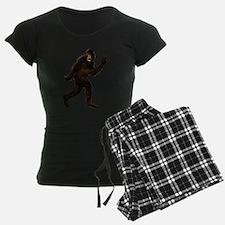 Bigfoot Yeti Sasquatch Peace pajamas