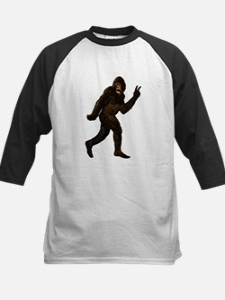 Bigfoot Yeti Sasquatch Peace Tee