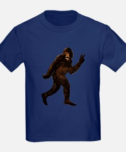 Bigfoot Yeti Sasquatch Peace T