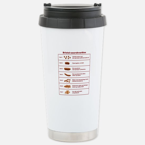 Bristol-saurskvardinn Stainless Steel Travel Mug