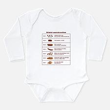 Bristol-saurskvarðinn Long Sleeve Infant Bodysuit