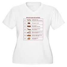 Bristol-saurskvarðinn T-Shirt