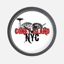 Coney Island NYC Wall Clock