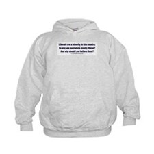 Liberals are a minority. Hoodie