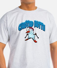 Crested Butte Skier T-Shirt