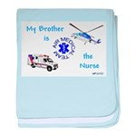Nurse Brother baby blanket