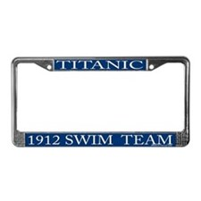 Cool 1912 License Plate Frame