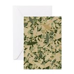 Air Force Camouflage Greeting Card