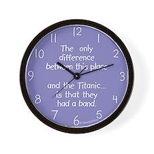 Titanic Band Wall Clock