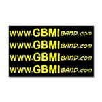 GBMI Website Car Magnet