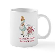Alice and the White Rabbit Mug