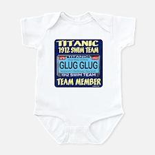 Unique Titanic neon Infant Bodysuit