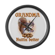 Grandmas Large Wall Clock