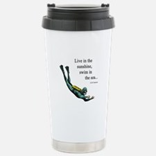 Sea Scuba Diver Stainless Steel Travel Mug