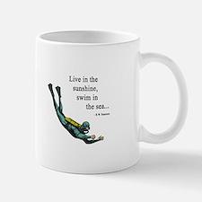 Sea Scuba Diver Small Small Mug