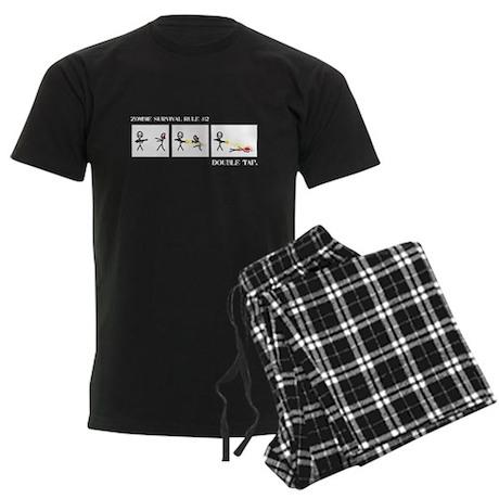 Double Tap Men's Dark Pajamas