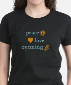 Peace, Love and Running Tee