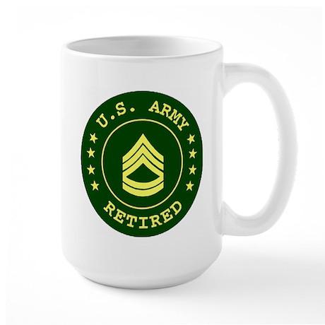 Retired Sergeant First Class Coffee Mug