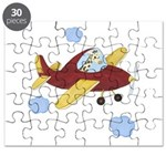 Giraffe - Airplane Puzzle