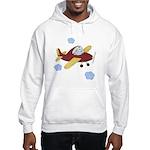 Giraffe - Airplane Hooded Sweatshirt