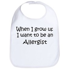 Grow Up Allergist Bib