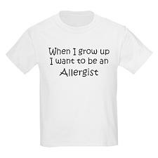 Grow Up Allergist Kids T-Shirt