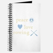 Peace, Love and Rowing Journal