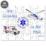 Pilot Grandpa Puzzle
