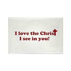 I love the Christ Rectangle Magnet (10 pack)