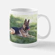 German Shepherd Lying Design Mug