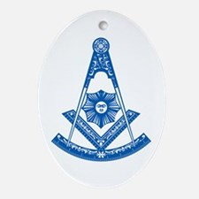 Past Master Ornament (Oval)