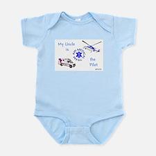 Pilot Uncle Infant Bodysuit