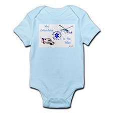 Pilot Grandma Infant Bodysuit