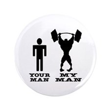"My Man vs. Your Man 3.5"" Button (100 pack)"