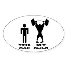 My Man vs. Your Man Decal