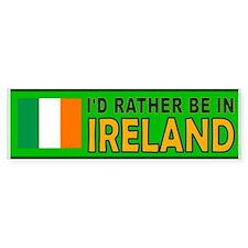 IRISH IS BEST Bumper Sticker