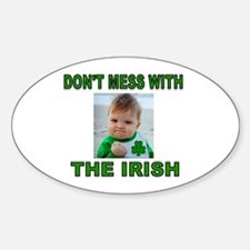 IRISH IS BEST Decal