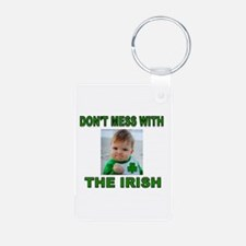 IRISH IS BEST Aluminum Photo Keychain
