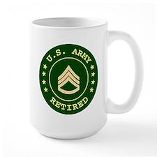 Retired Army Staff Sergeant Coffee Mug