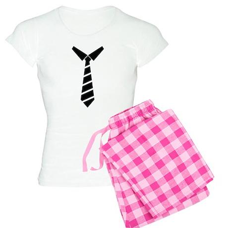 NeckTie Women's Light Pajamas