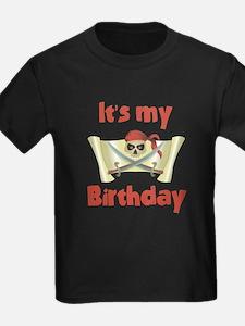 Unique Birthday pirate theme T