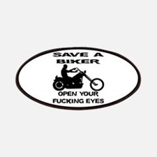Save A Biker Patches
