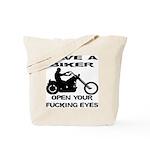 Save A Biker Tote Bag